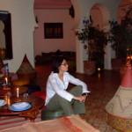 ryad di bushra - la casa tipica con giardino inter