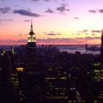 l'Empire State Building - vista da Topo of the Roc